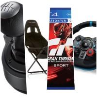 PS4 Logitech G29 / Stir Mobil PS4 Bundle Games & Playseat