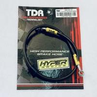 Brake Hose / Selang Rem Belakang TDR Racing Black Carbon 24 inch 60 cm