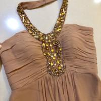Jual Dress gown baju longdress pesta VOTUM by Sebastian Gunawan