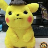 Boneka Detective Pikachu Doll Limited Edition 25cm import