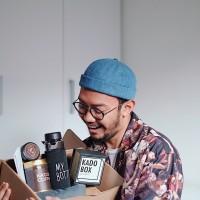 """Kado Hadiah Ultah Pria Bundel Parsel Ulang Tahun Hampers """"Gangsta"""""""