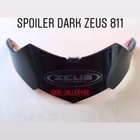 Spoiler Helm Zeus 811 Warna Hitam Dark