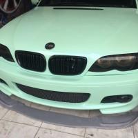 2PCS Car Front Bumper Grill TRIM BEZEL for BMW 3 Series E46 2001-2005