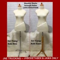 JNE TRUCKING Manekin Wanita Lapis Busa Set Kaki