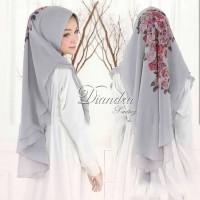 VR Fashion Muslim Jilbab Khimar 2 Layer DIANDRA Printing