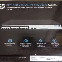 HP 1420-24G-2SFP+ 10G Uplink Switch 24 Port Unmanage (JH018A)