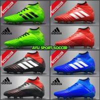 Sepatu bola Adidas Predator merah putih