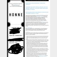 Jual Tiket Honne Harga Terbaru 2019 Tokopedia