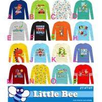 Kaos Anak Tangan Panjang | Kaos Anak Cowo Lengan Panjang Little Bee