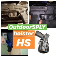 Holster HS Fobus SP-11RP HS9 Paddle Holster Springfield