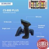 Barcode Scanner Scanlogic CS-800 Plus / CS800 USB 1D tanpa stand