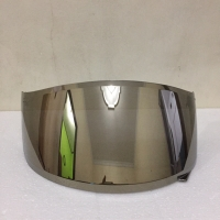 Flat Visor Iridium Gold R10 RC7 K2Rider Not Blue Silver Merk Handarb