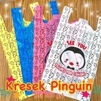 Kantong Plastik Motif Pinguin 500gr/ Kresek Motif Warna Pinguin
