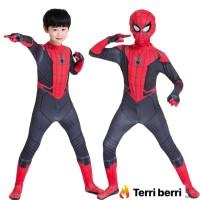 Kostum spiderman homecoming / home coming anak