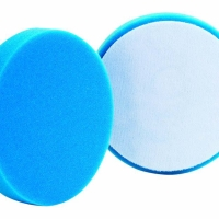 "Buff and Shine Foam Pad Blue Soft Polishing 5 1/2 inch atau 5,5"""