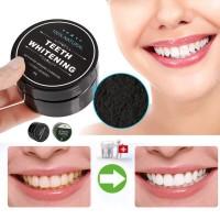 Teeth Whitening Powder Organic Activated Charcoal Pemutih Gigi