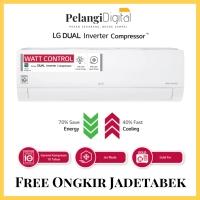 LG AC Dual Inverter 1 PK -- T10EV3