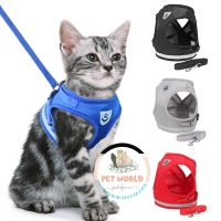Rolfe Harness - Kalung Tali Anjing Kucing Hewan Cat Dog Leash Collar - PILIH SIZE, PILIH WARNA