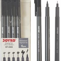Spidol Drawing Joyko/ Drawing Pen Joyko set 6