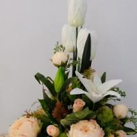 Rangkaian Bunga Vase Centerpiece - KHUSUS GOJEK