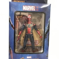Figure Spiderman Infinity War With stand Base Marvel Gold