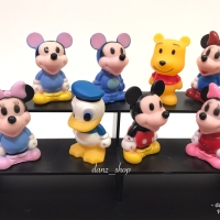 Figure Mickey Mouse Donald Duck Cake Topper Set isi 8 Pc
