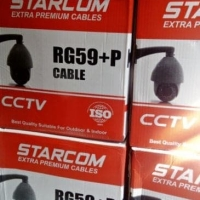 Kabel CCTV STARCOM RG59 Power dan Coaxial