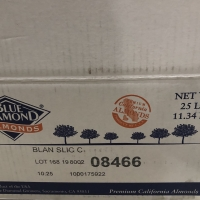 Almond slice blue diamond 1 dus khusus gosend/grab