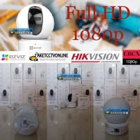 Ezviz C6CN 1080p FullHD 2 MP IP Camera Wireless Resmi by Hikvision