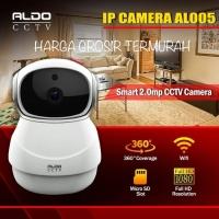 Ip Cam / Baby Cam / Paket Aldo Cctv Al 005 2.0MP SD Card 360 Degree