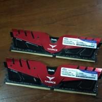 Ram 8gb Tforce dual channel 2400mhz
