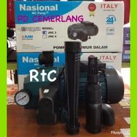 Harga promo pompa air jetpump 250 watt national komplit tanpa tangki