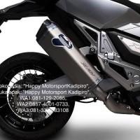 Knalpot slip On Termignoni ori Italy titan Carbon v2 Honda X ADV 750cc