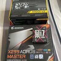 Intel i7 7820X Socket 2066 - Gigabyte X299 Aorus - Corsair H100i V2