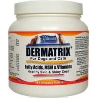 Suplemen vitamin dermatrix anjing dan kucing isi 360