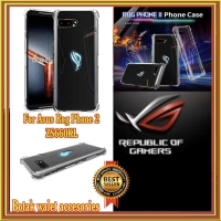 ASUS ROG PHONE 2 II ZS660KL CRYSTAL CLEAR SOFT SILICONE CASE CRACK TPU