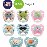 Dr Browns baby prevent pacifier empeng bayi 0-6m sd 6-12m dot new born
