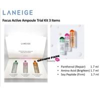 LANIEGE Focus Active Ampoule Trial Kit (3 items @1.7ml)