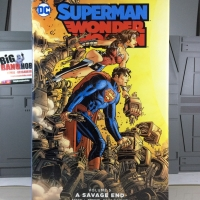 DC COMICS HARDCOVER EDITION SUPERMAN WONDER WOMAN : A SAVAGE END