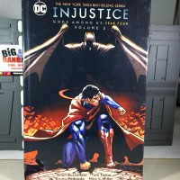DC COMICS HARDCOVER EDITION INJUSTICE GOD AMONG US Year Four Vol 2