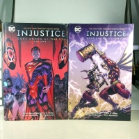 FOR SALE DC COMICS HARDCOVER INJUSTICE GOD AMONG US YEAR FIVE