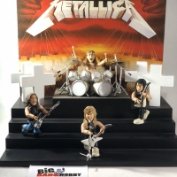MUSIC FIGURE SMITI STAGE DELUXE METALLICA MASTER OF PUPPETS TOUR