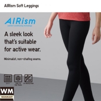 Jual Uniqlo Airism Women Celana Legging Soft Wanita Gray Kota Depok Wan Mart Tokopedia