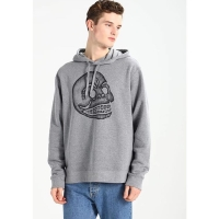 Hoodie Pullover Cheap monday pencil skull grey original not off white