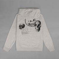 Hoodie Pullover Cheap monday skull mania cream original not off white