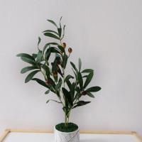 Daun Plastik Olive/Zaitun Set - Premium Quality
