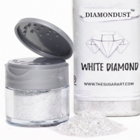 White Diamondust The Sugar Art Edible Glitter 3 Gram
