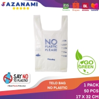 KANTONG TELOBAG 17 X 32CM PLASTIK BIODEGRADABLE ECO FRIENDLY 50PCS