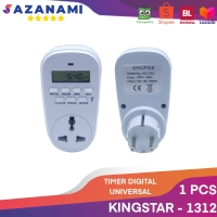 TIMER DIGITAL T COLOKAN LUBANG 3 TIMER DIGITAL UNIVERSAL KINGSTAR 1312