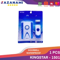 DOOR BELL BEL PINTU WIRELESS WATERPROOF ANTI AIR KINGSTAR KS-1501